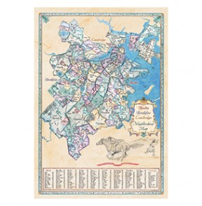 Map of Boston Neighborhoods