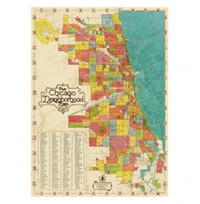 2nd Edition Chicago Neighborhood Map