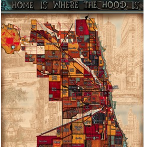 3rd Edition Chicago Neighborhood Map