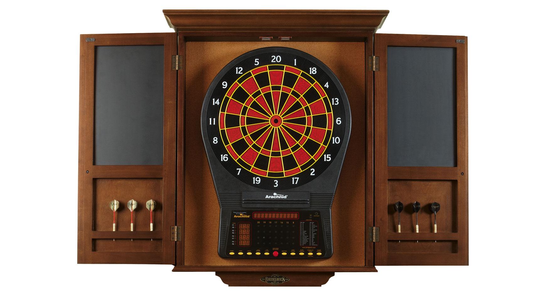 Dartboard Cabinet - Racks & Accessories