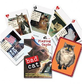 Bad Cat Playing Cards