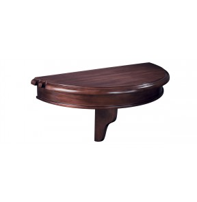 Colonial Pub Shelf-Half Round