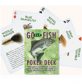 Poker Go Fly Fish Playing Cards