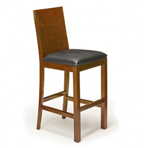 Heritage Wood Back Barstool - Set of 2