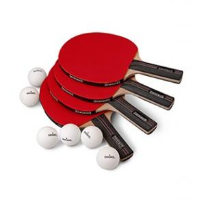 4 Player Table Tennis Set