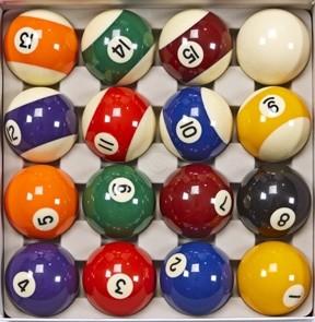 Traditional Pocket Balls Full Set