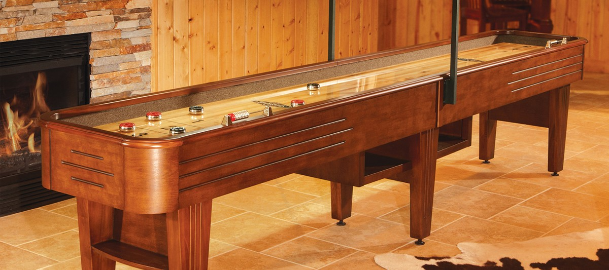 Andover II - 12 foot shuffleboard table for sale