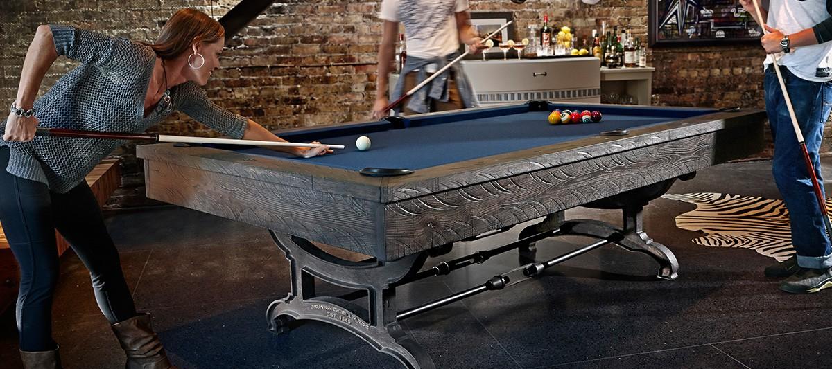 Birmingham - Brunswick ashton pool table