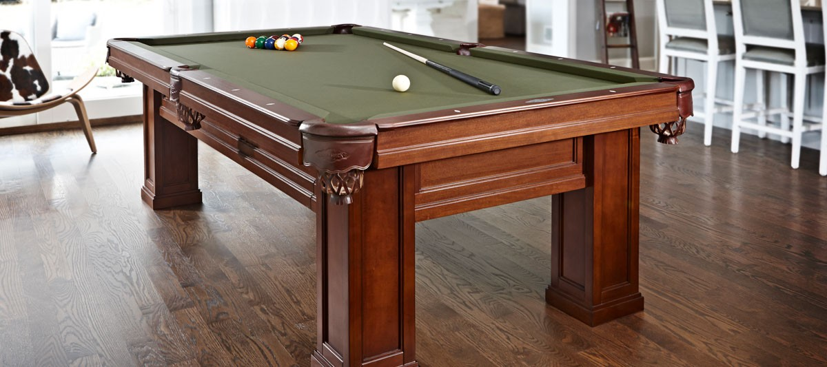 Oakland II Billiards Tables - Pool table description