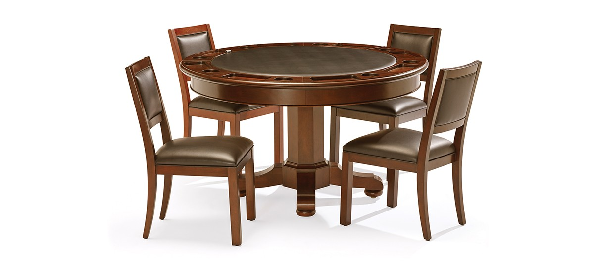 Why Adding A Rug Under Dining Table Sets Is A Must: Heritage Game Table